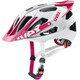 UVEX Quatro Pro Fietshelm roze/wit